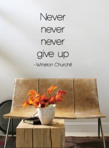 Determination - Never Give Up