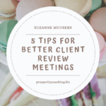 5 tips for better client review meetings - financial advisors
