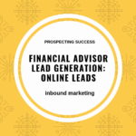 financial advisor lead generation