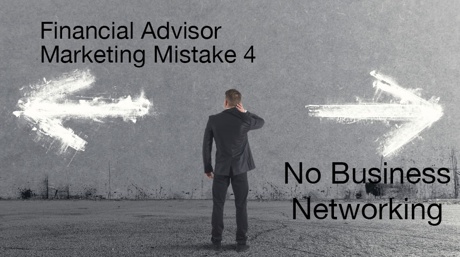 No business networking