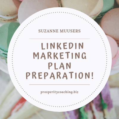 LinkedIn Marketing Plan Preparation