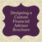 custom financial advisor brochure
