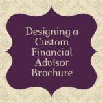 custom financial advisor brochure
