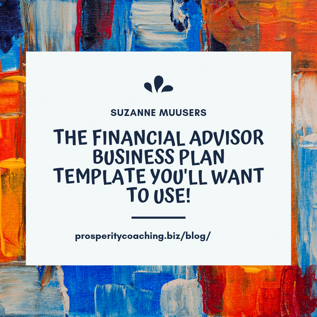 A Financial Advisor Business Plan Template You Ll Want To Use