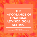 financial advisor goal setting