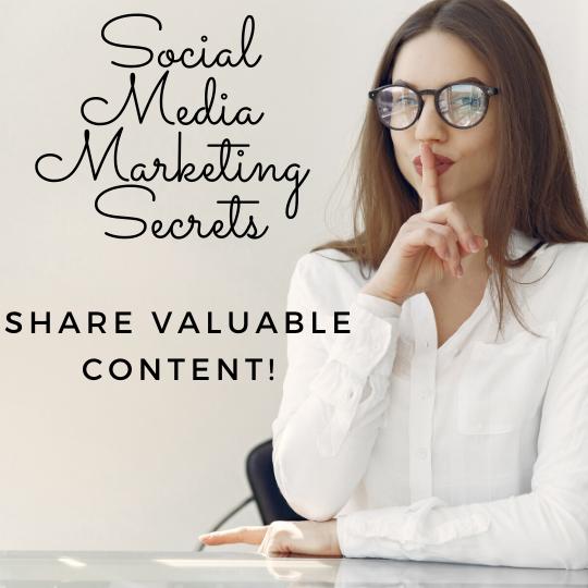 share valuable content financial advisor social media