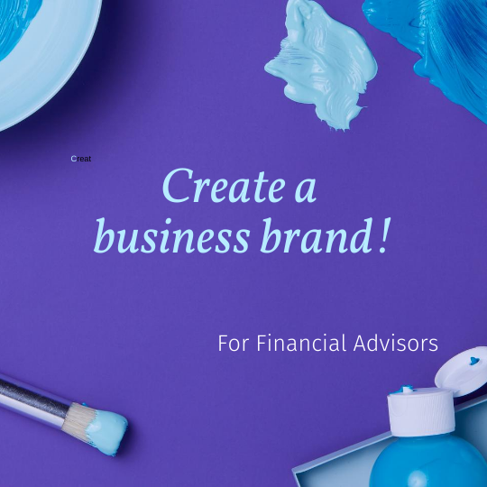 financial advisors business brand