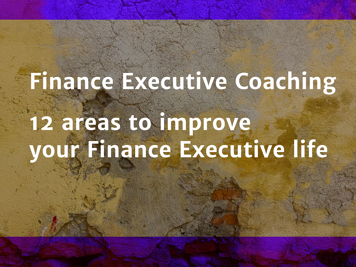 Finance Executive Coaching