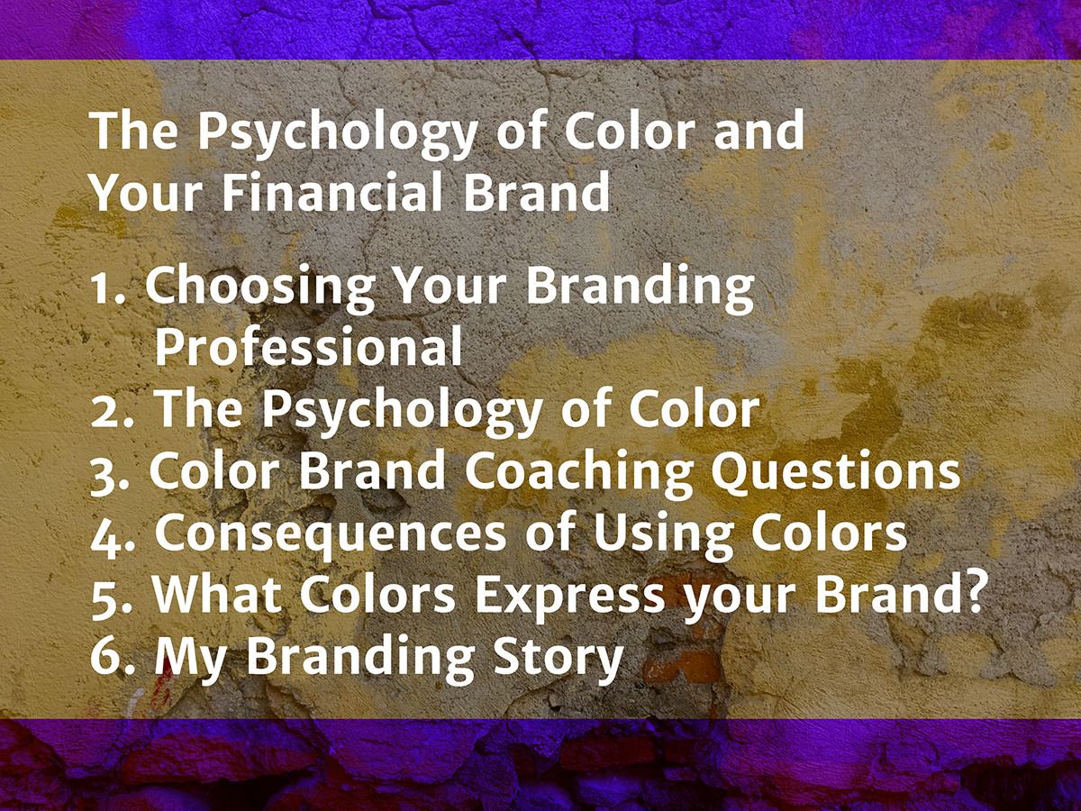 The Psychology of Color and Your Financial Brand