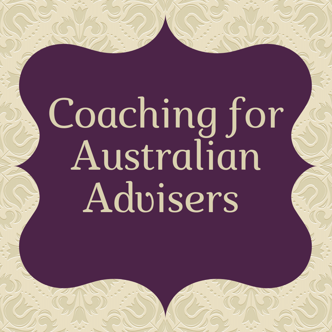 Coaching for Australian Financial Advisers