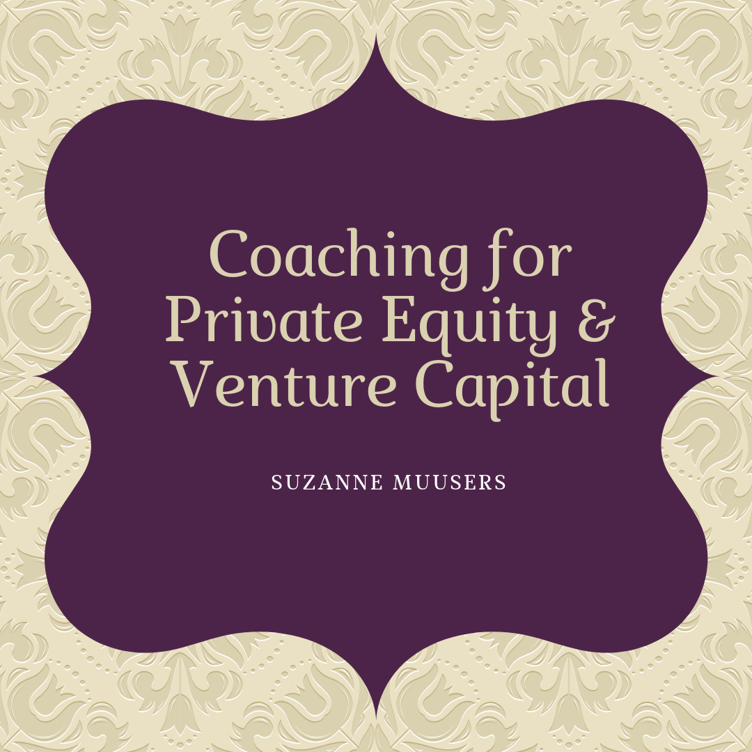 coaching for private equity and venture capital