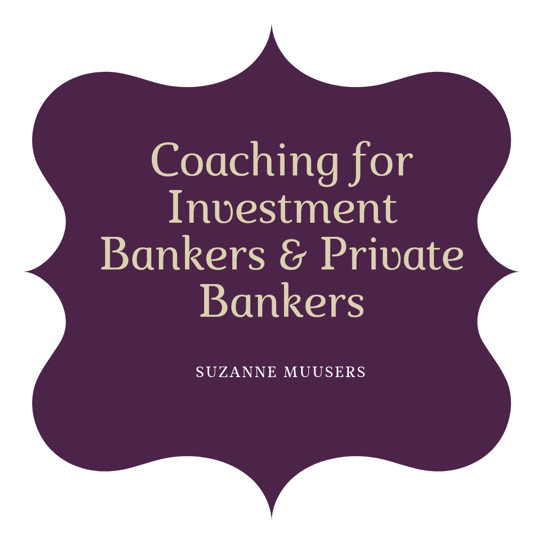 coaching for investment bankers and private bankers