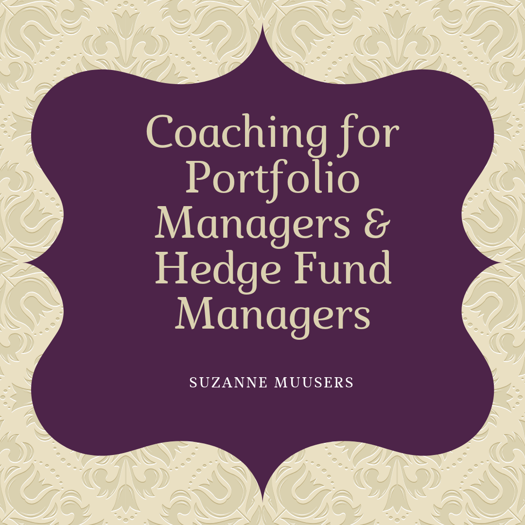 coaching for portfolio managers and hedge fund managers