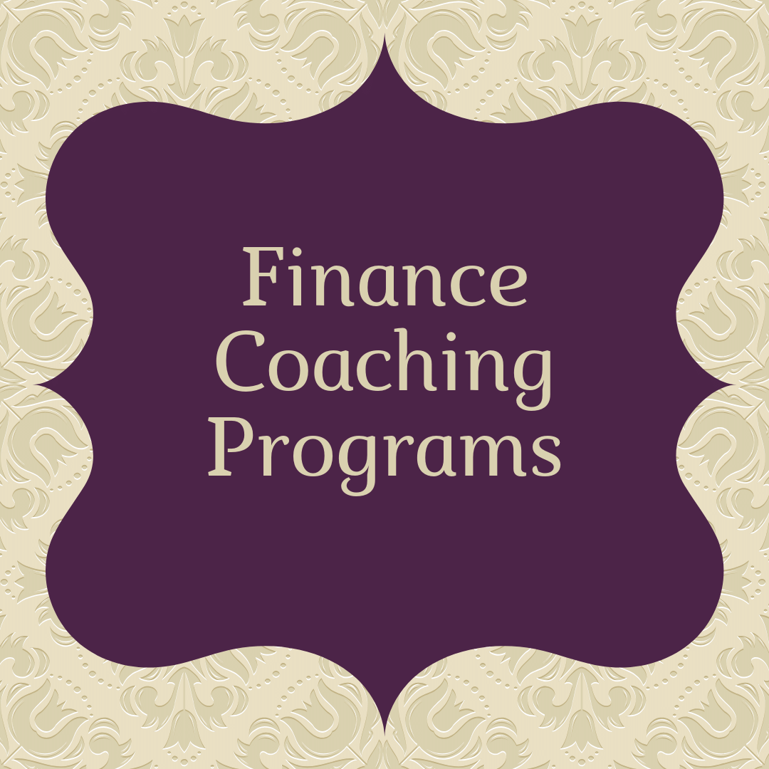 finance coaching programs
