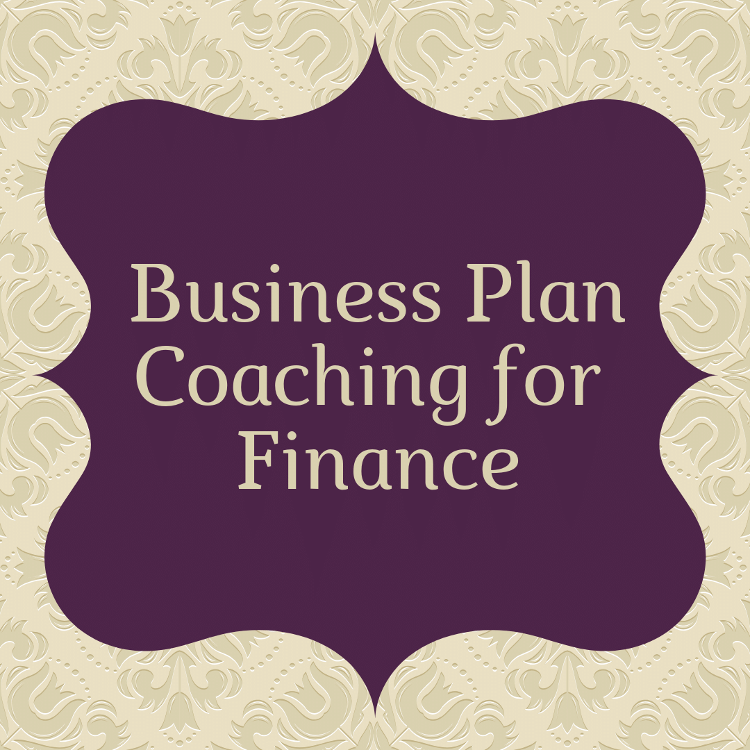 business plan coaching for finance
